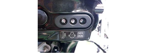 Engine Monitoring LED Indicators